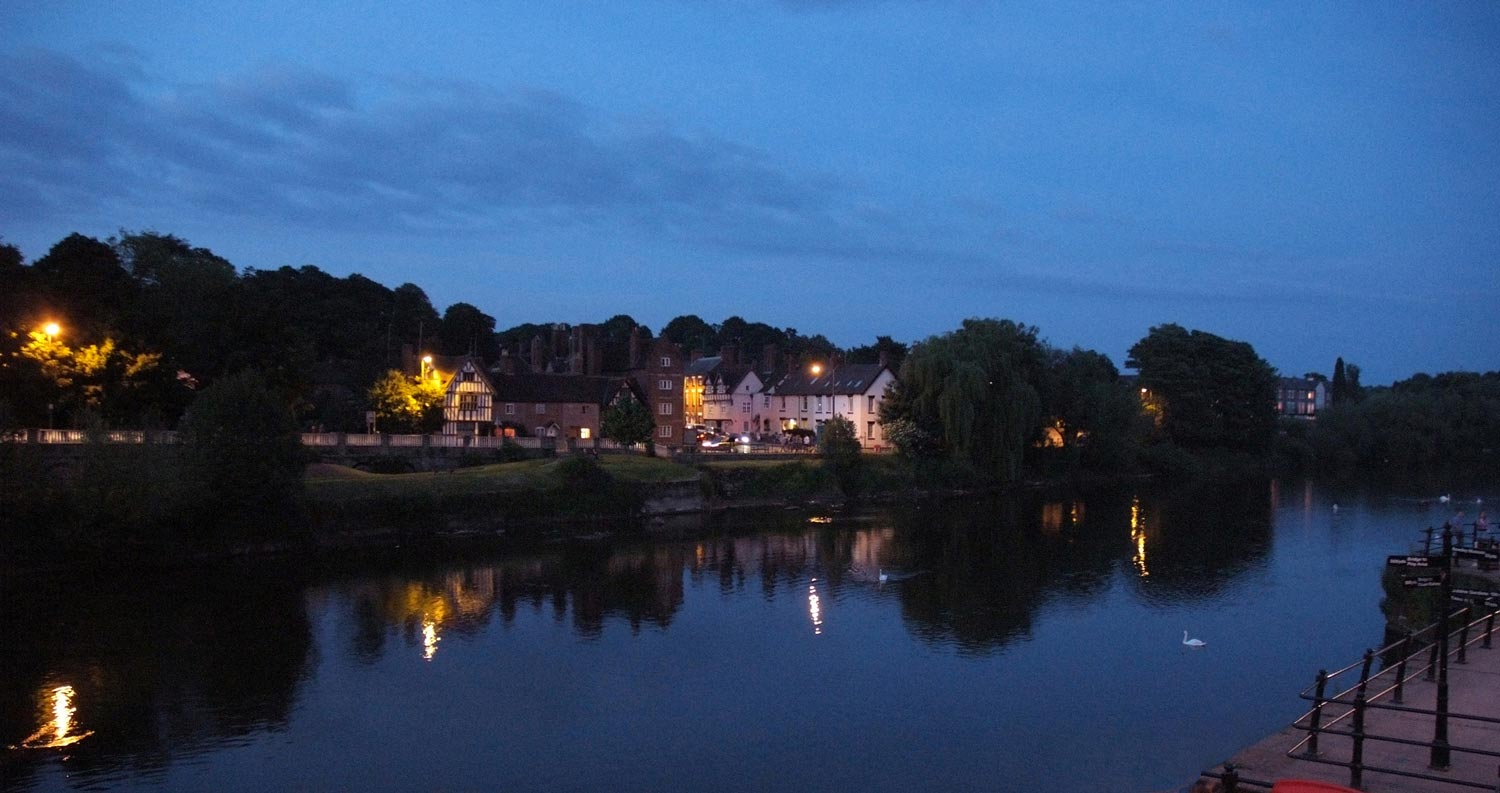 Bewdley in Twylight